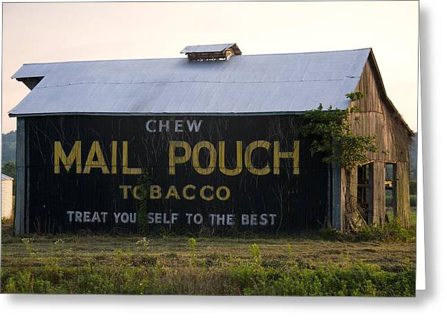 Landscape Posters Greeting Cards - Country Barn Ad Greeting Card by Chris Flees