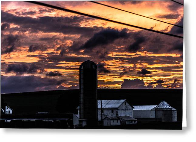 Jahred Allen Photography Greeting Cards - Country Barn  Greeting Card by Jahred Allen