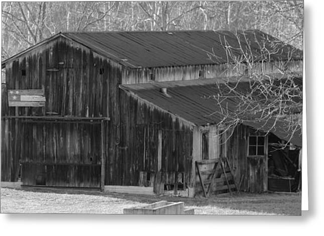Franklin Farm Greeting Cards - Country Dairy Barn Greeting Card by Houston Haynes