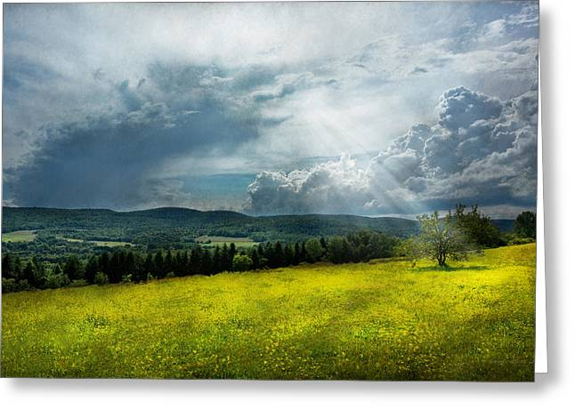 Eternal Inspirational Greeting Cards - Country - Eternal hope Greeting Card by Mike Savad