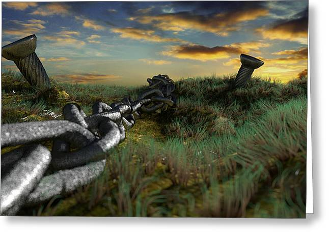 Concern Digital Art Greeting Cards - Country File Greeting Card by Brainwave Pictures