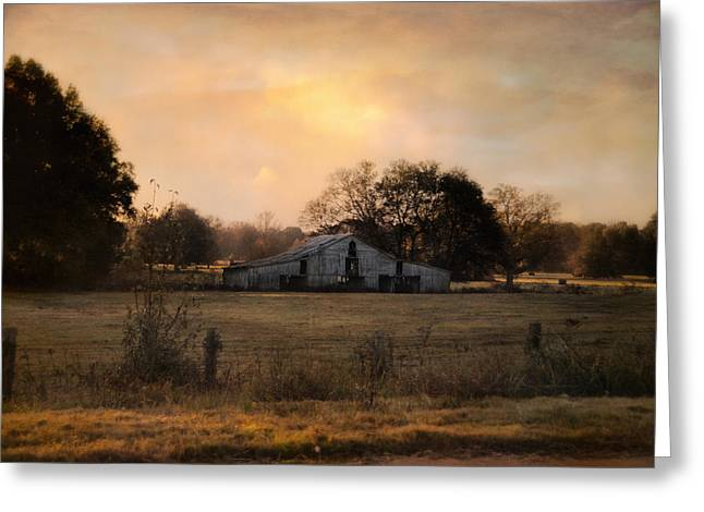 Tennessee Barn Greeting Cards - Country Heirloom Greeting Card by Jai Johnson
