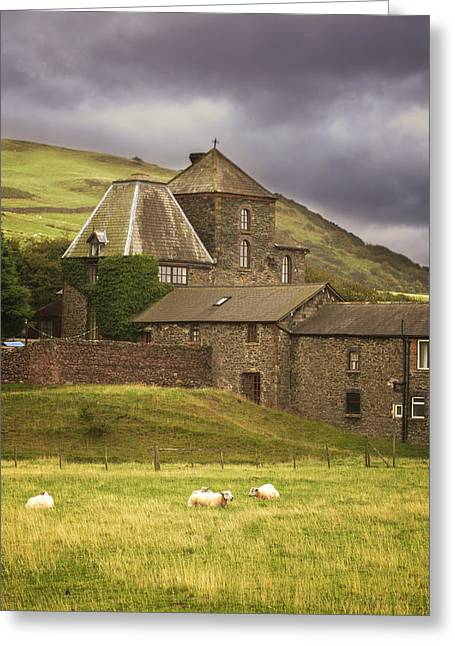 Country House Greeting Cards - Country House Greeting Card by Amanda And Christopher Elwell