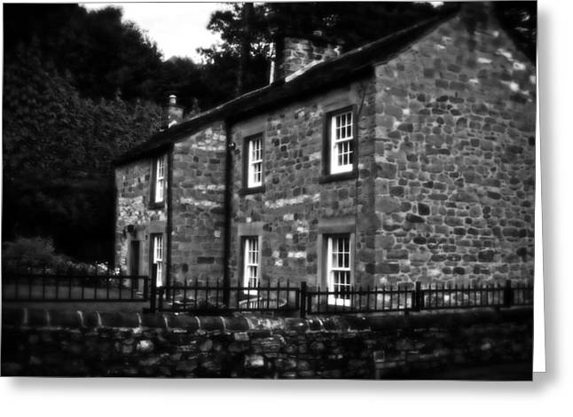 Country House In Bakewell Town Peak District - England Greeting Card by Doc Braham