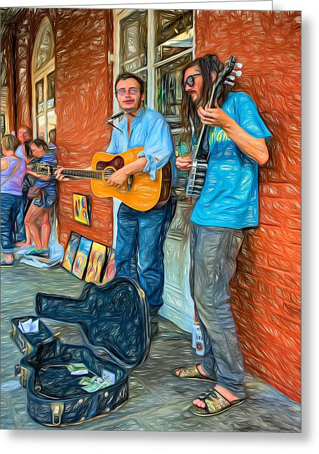 Country In The French Quarter - Paint Greeting Card by Steve Harrington