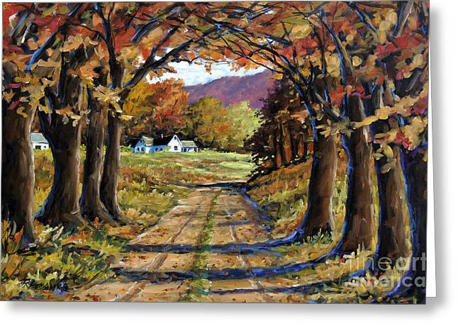étoiles Greeting Cards - Country Livin  Greeting Card by Richard T Pranke