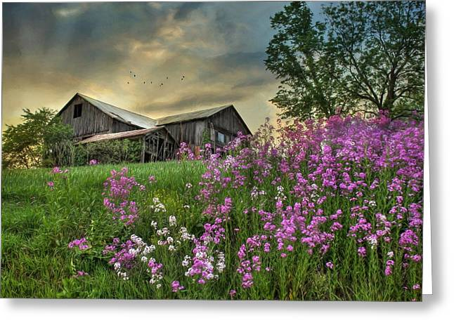 Barn Digital Greeting Cards - Country Living 3 Greeting Card by Lori Deiter