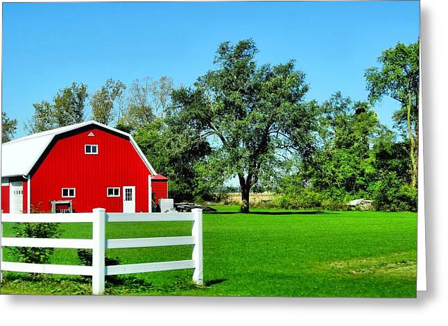Summer On The Farm Greeting Cards - Country Living Greeting Card by Dan Sproul