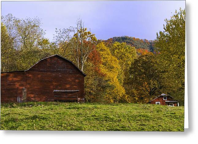 Tennessee Barn Greeting Cards - Country Living  Greeting Card by Lynn Bauer