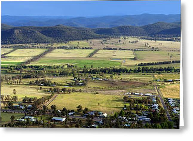 Localities Greeting Cards - Country Panorama Greeting Card by Tim Hester