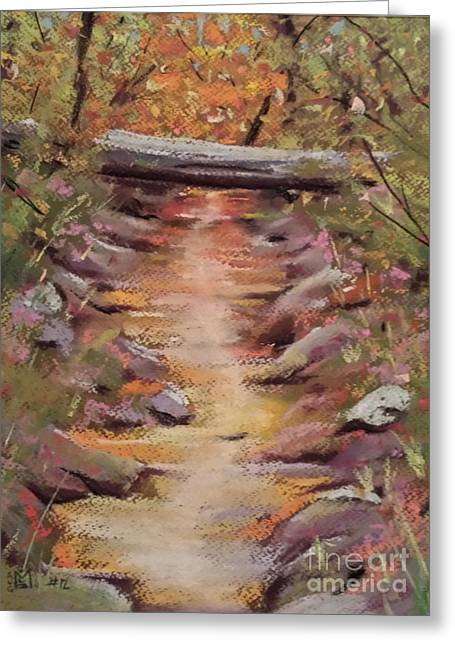 Hiking Pastels Greeting Cards - Country Path Greeting Card by Jeffrey McDonald