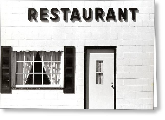 Thomas Marchessault Greeting Cards - Country Restaurant Greeting Card by Thomas Marchessault