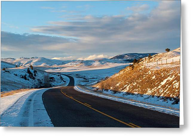 Daysray Photography Greeting Cards - Country Road Greeting Card by Fran Riley