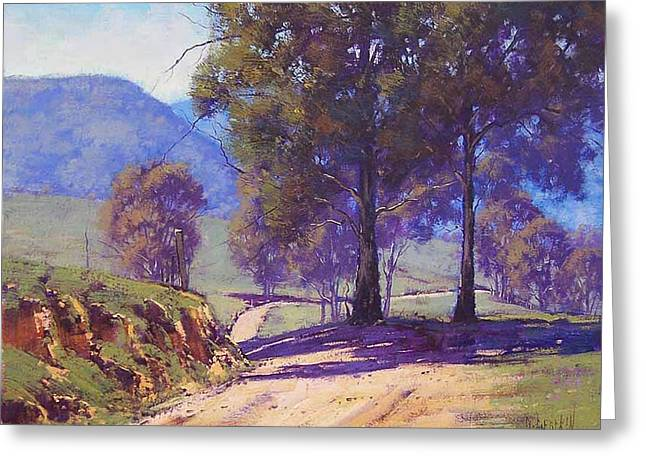 Country Road Oberon Greeting Card by Graham Gercken