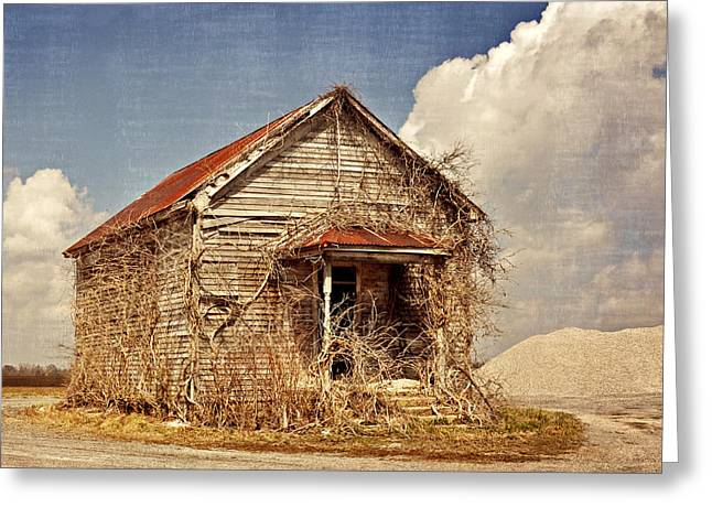 Country Schoolhouse  Greeting Card by Marty Koch