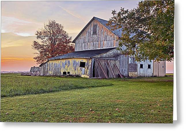 Mid West Landscape Art Greeting Cards - Country Sunrise Greeting Card by Marcia Colelli