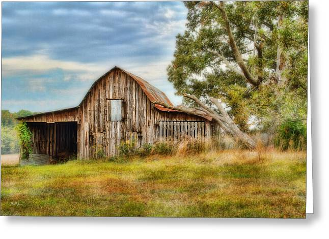 Tin Roof Greeting Cards - Farm - Barn - Country Time Barn Greeting Card by Barry Jones