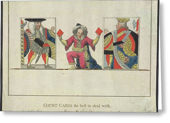Court Cards Greeting Card by British Library