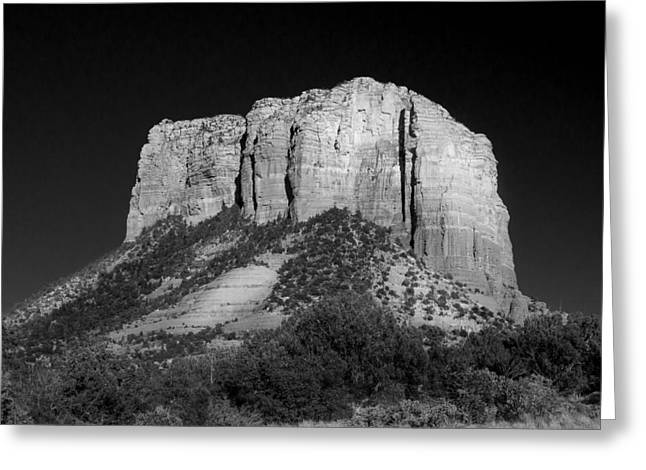 Courthouse Butte Sedona Greeting Card by Chris Bordeleau