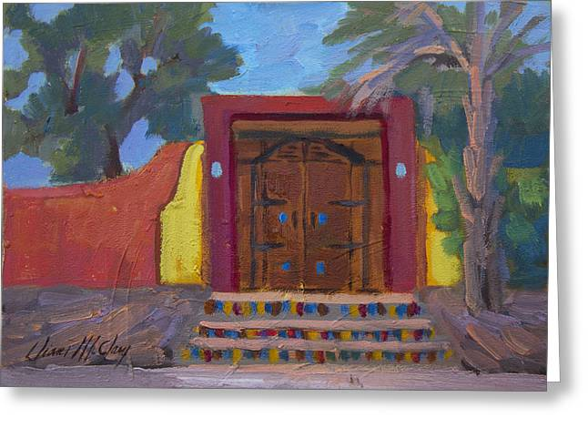 La Quinta Greeting Cards - Cove Doorway 2 Greeting Card by Diane McClary