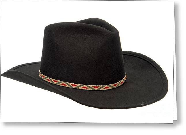 Cowboy Hats Greeting Cards - Cowboy Felt Hat Greeting Card by Olivier Le Queinec