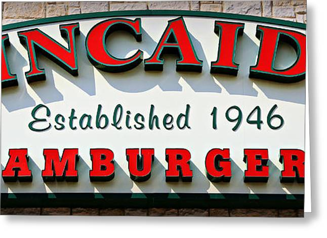 Cheeseburger Photographs Greeting Cards - Cowtown Classic Burger 2.0 Greeting Card by Stephen Stookey