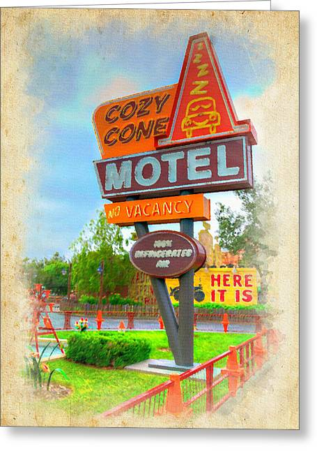 Anaheim California Greeting Cards - Cozy Cone Greeting Card by Ricky Barnard