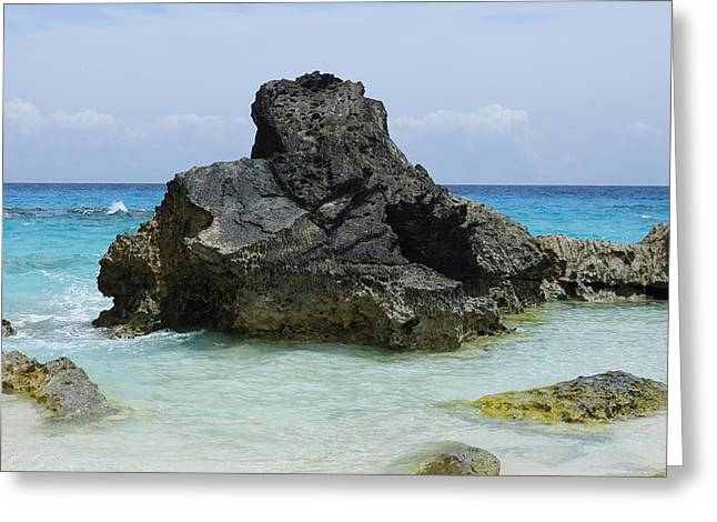 Clear Shoes Greeting Cards - Cozy Cove Greeting Card by Luke Moore