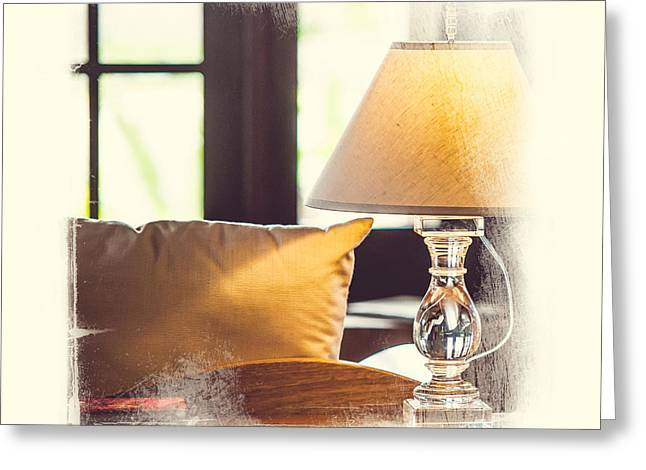 Watercolor! Art Photographs Greeting Cards - Cozy Light. Elegant KnickKnacks from JennyRainbow Greeting Card by Jenny Rainbow