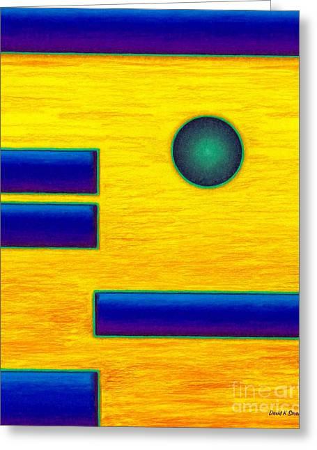 David K Small Greeting Cards - Cp031 Greeting Card by David K Small