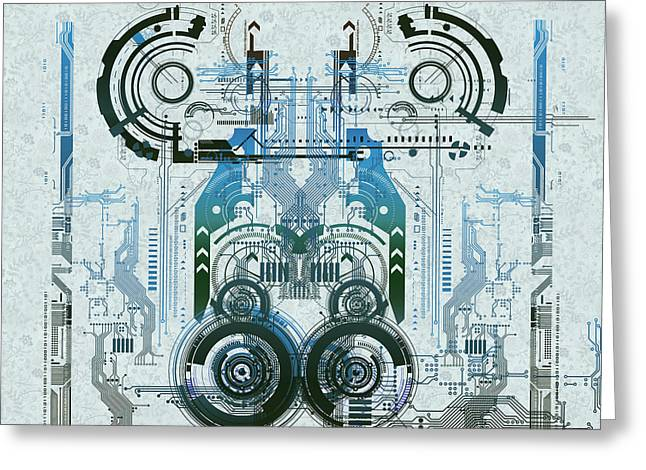 Processor Digital Greeting Cards - Cpu Iv Greeting Card by Diuno Ashlee