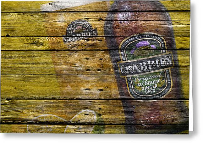 Tap Greeting Cards - Crabbies Greeting Card by Joe Hamilton