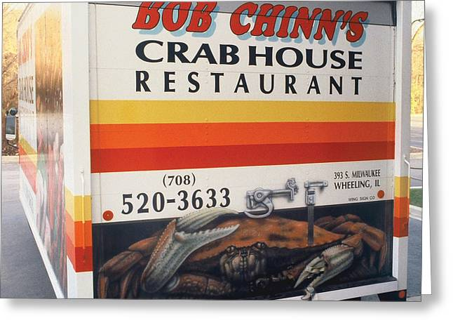 Crabhouse Truck Greeting Card by Bill Jonas