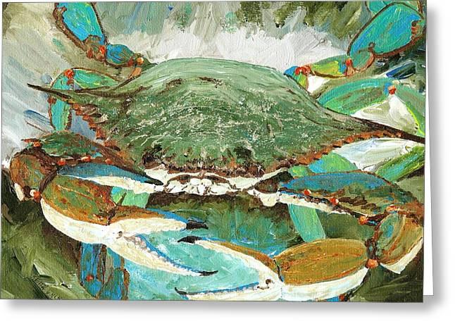 Crabnbowl Greeting Card by Keith Wilkie