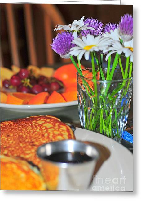 Maple Syrup Greeting Cards - Crack of Dawn  Greeting Card by Catherine Reusch  Daley