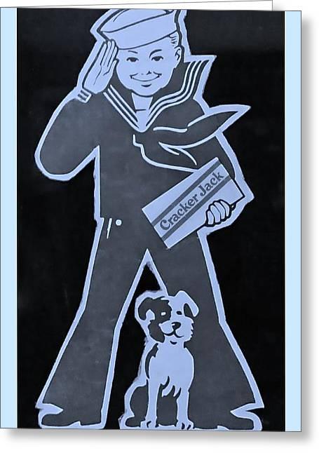 Crackerjack Greeting Cards - Crackerjack Cyan Greeting Card by Rob Hans