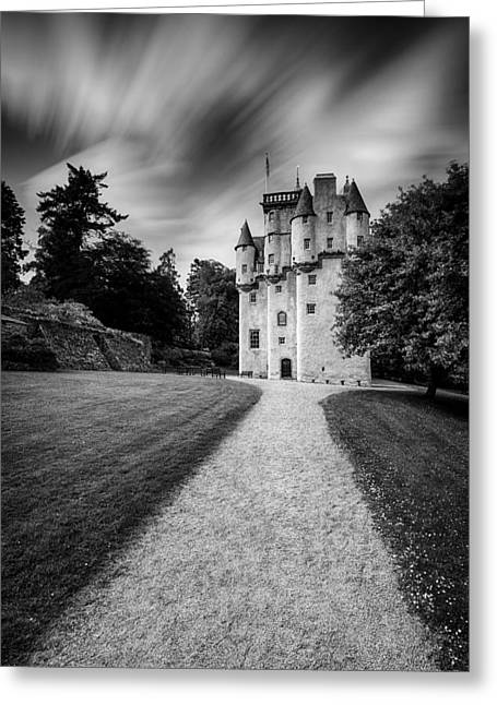 Impressive Greeting Cards - Craigievar Castle Greeting Card by Dave Bowman