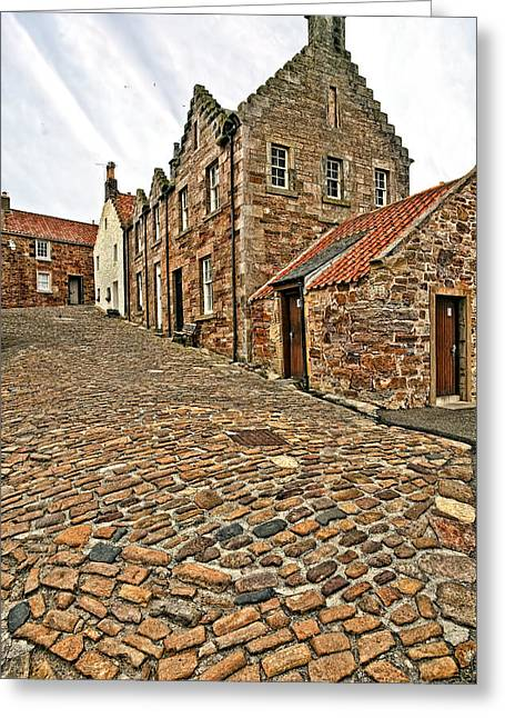 Royal Art Greeting Cards - Crail Scotland Greeting Card by Marcia Colelli
