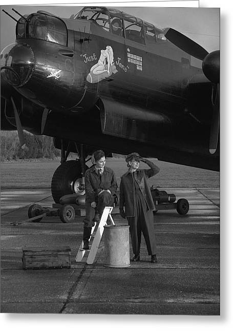 Fighter-bomber Photographs Greeting Cards - Crash Landing Greeting Card by Jason Green