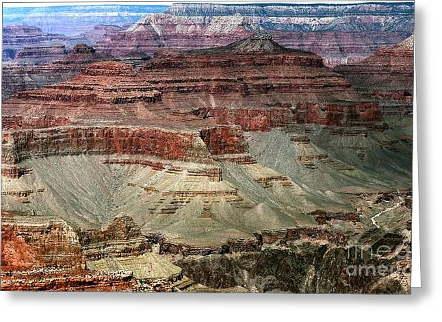 Wonders Of Nature Greeting Cards - Crater Colors Greeting Card by John Rizzuto
