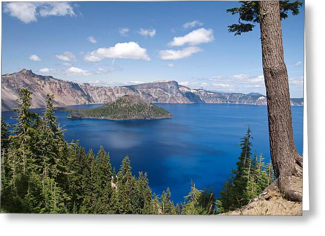 Diane Schuster Greeting Cards - Crater Lake National Park Greeting Card by Diane Schuster