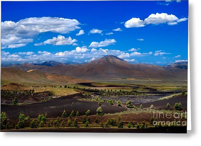 Craters Of The Moon Greeting Card by Robert Bales