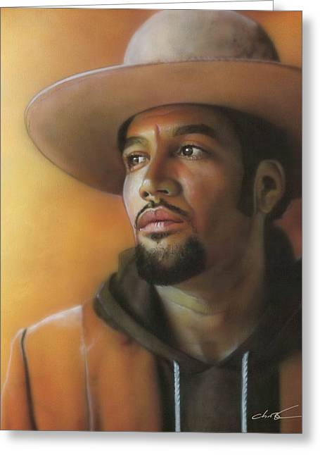 Ben Harper Greeting Cards - Crazy Amazing Greeting Card by Christian Chapman Art