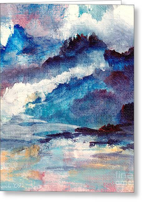 Creation Greeting Card by Kathy Bassett