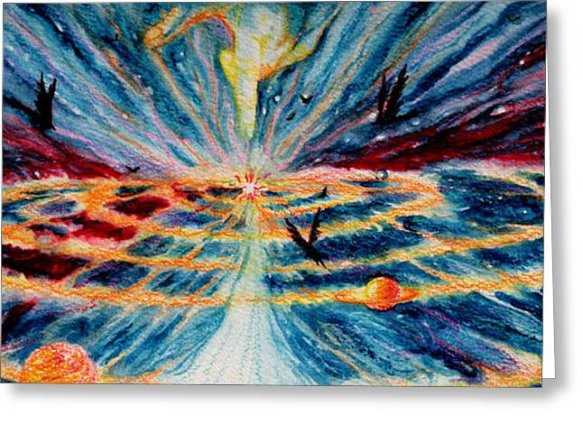 Visionary Artist Greeting Cards - Creation Greeting Card by Kd Neeley