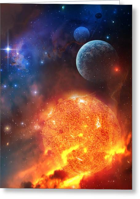 Creation Greeting Cards - Creation Greeting Card by Philip Straub