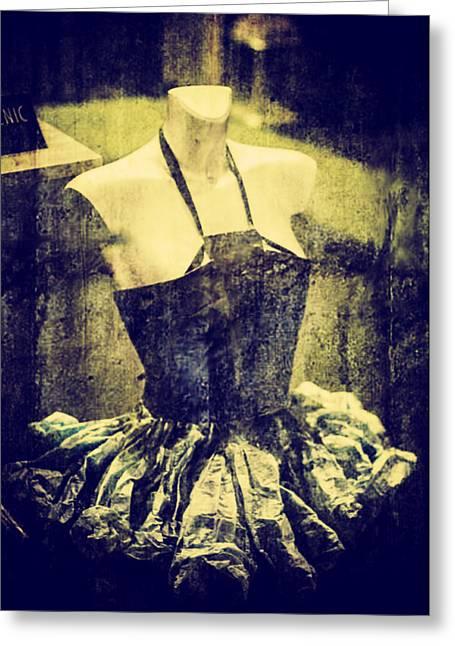 Transparent Clothes Greeting Cards - Creative dress Greeting Card by Georgina Noronha
