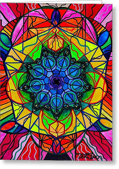 Sacred Greeting Cards - Creativity Greeting Card by Teal Eye  Print Store