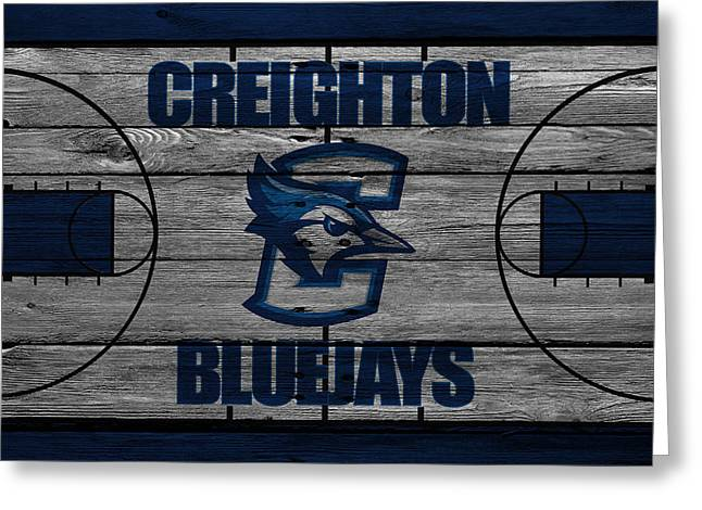 Creighton Bluejays Greeting Card by Joe Hamilton