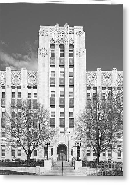 Special Occasion Greeting Cards - Creighton University Creighton Hall Greeting Card by University Icons